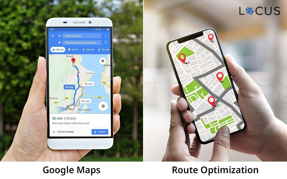 Route Optimization VS Google Maps