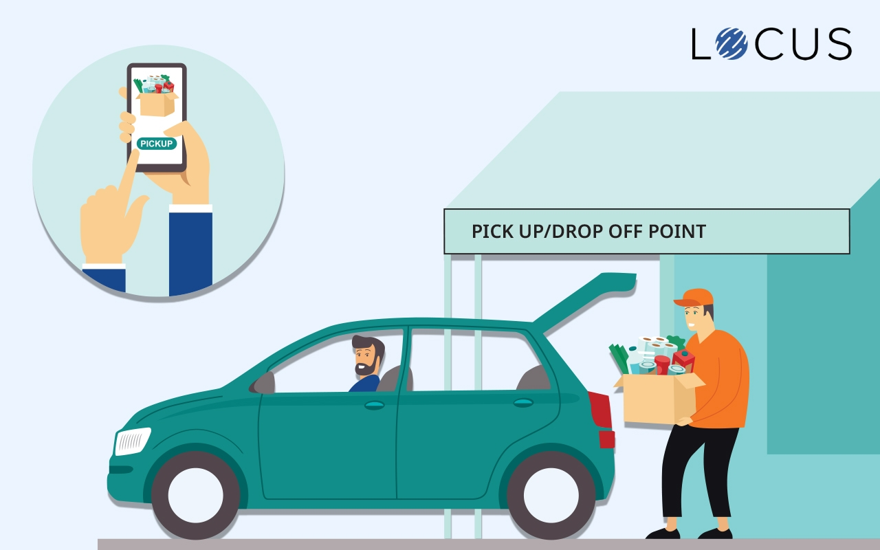 Will Pick-Up And Drop-Off Network Improve Deliveries Efficiency