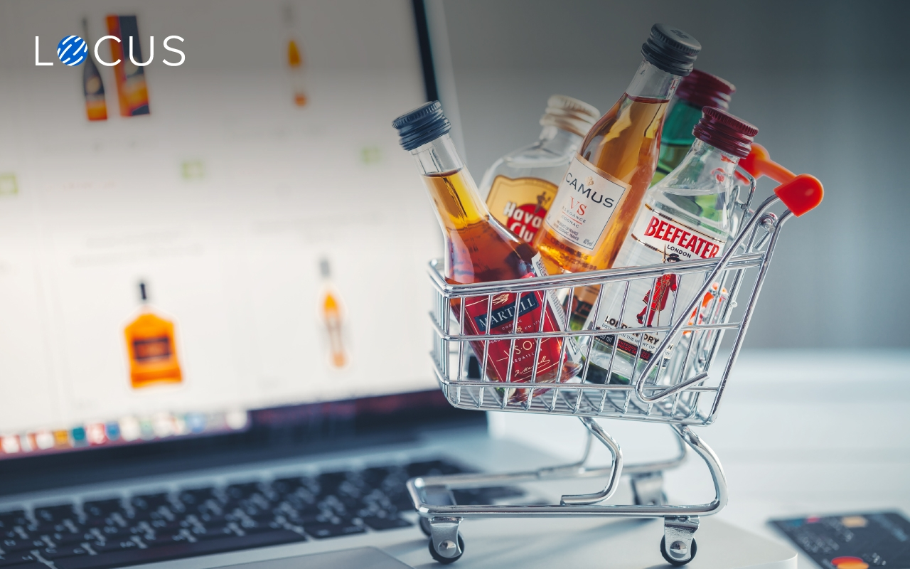 alcohol and beverage e-commerce